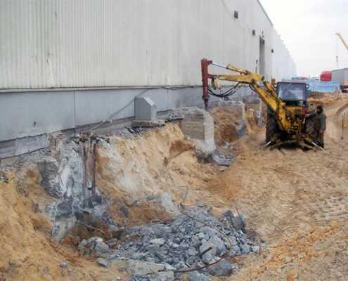 Проект №2 - Срубка бетонных свай
