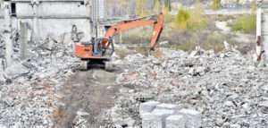 Демонтаж бетона и фундамента в Санкт-Петербурге
