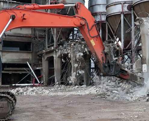 Проект №4 - Снос бетонных конструкций