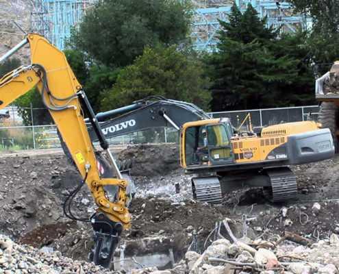 Проект №5 - Демонтаж фундаментной плиты в Лен. области