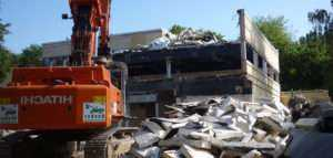 Демонтаж зданий в СПБ