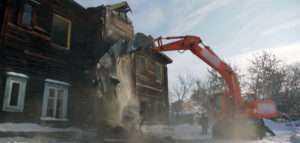 Демонтаж деревянных домов в СПБ