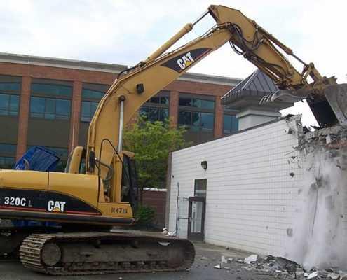 Снос зданий СПБ (демонтаж)