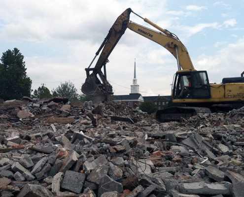 Снос зданий в СПБ