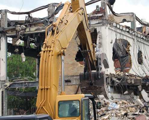Демонтаж сооружения в СПБ