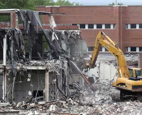 Снос зданий и сооружений в СПБ