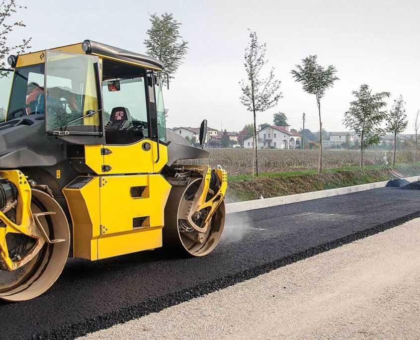 Асфальтирование территорий и дорог в Санкт-Петербурге