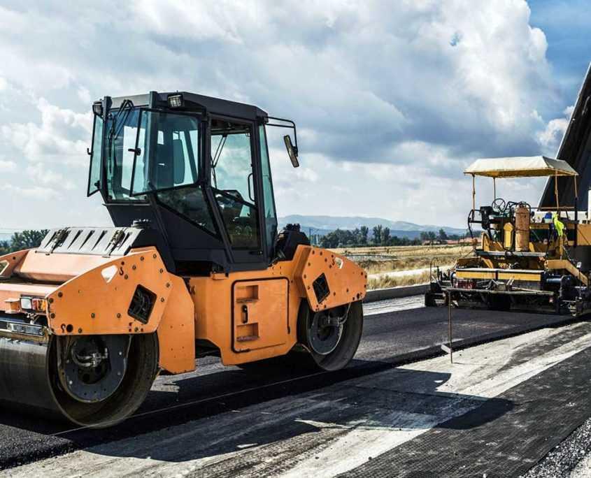 Строительство дорог в Санкт-Петербурге и Ленинградской области