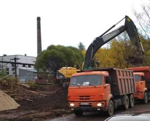 Вывоз грунта, мусора СК ООО «Эверест»