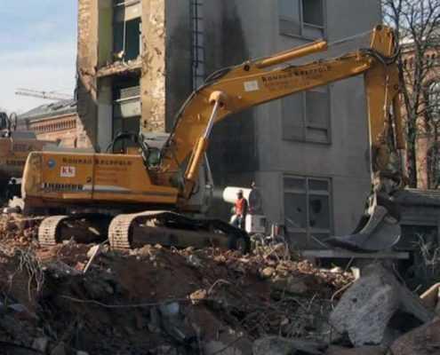Утилизация строительных отходов в СПБ СК ООО «Эверест»