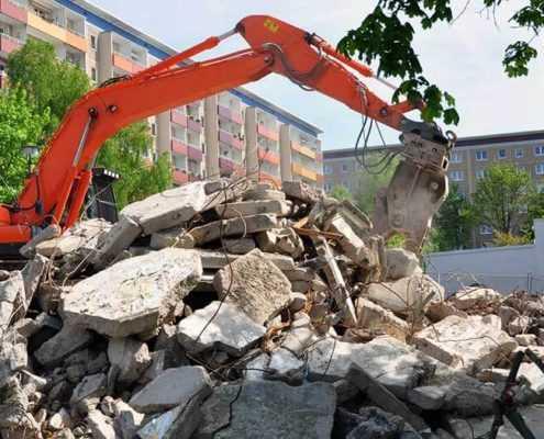 Услуги по вывозу строительного мусора СК ООО «Эверест»