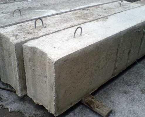 Бетонные фундаментные блоки ФБС от ООО «Эверест» - Фото №