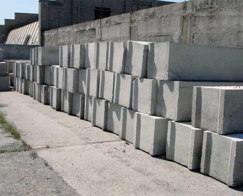 Бетонные фундаментные блоки ФБС от ООО «Эверест» - Фото №2