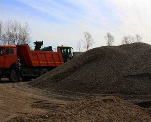 Смесь песчано-гравийная от ООО «Эверест» пример №8