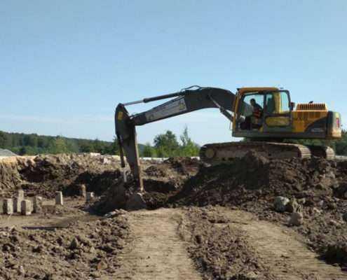 Земляные работы в СПБ и Ленинградской области