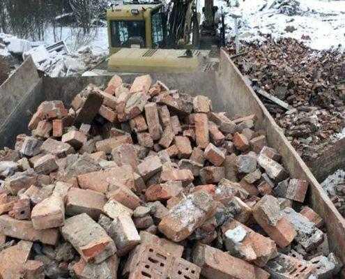 ООО «Эверест» выполняет демонтаж кирпичных стен, зданий, домов, гаражей, складов